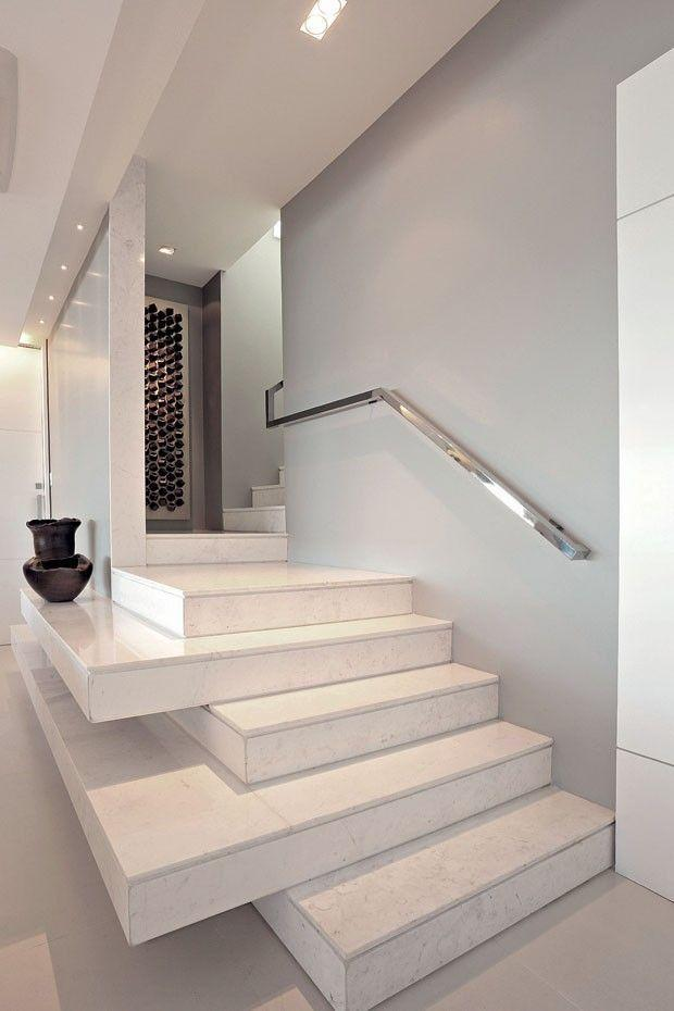 Stainless steel handrail: see tips and 60 models with photos 33