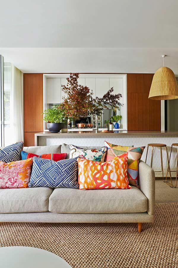 cheerful and different pillows