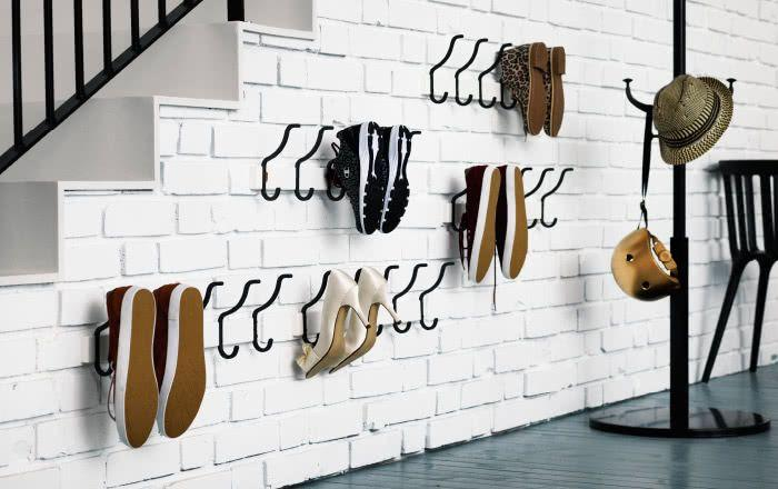 60 ideas and tips on how to organize shoes 44
