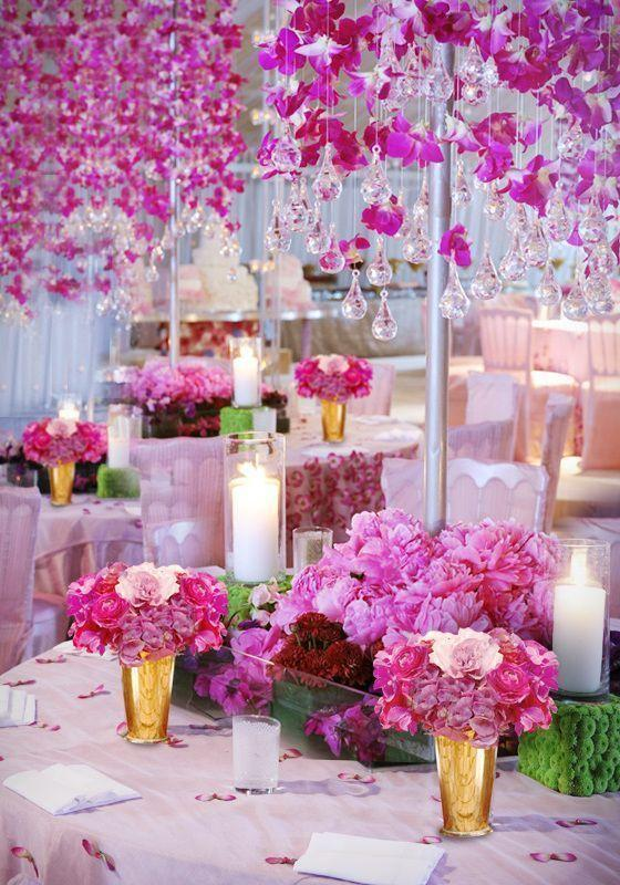 Wedding arrangements: 70 ideas for table, flowers and decoration 49