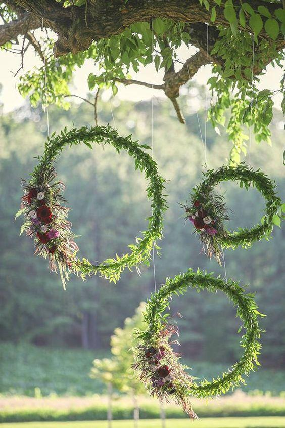 Wedding arrangements: 70 ideas for table, flowers and decoration 60