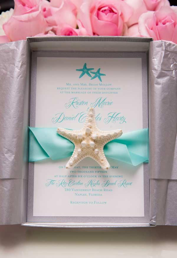 Tiffany blue for a beach wedding