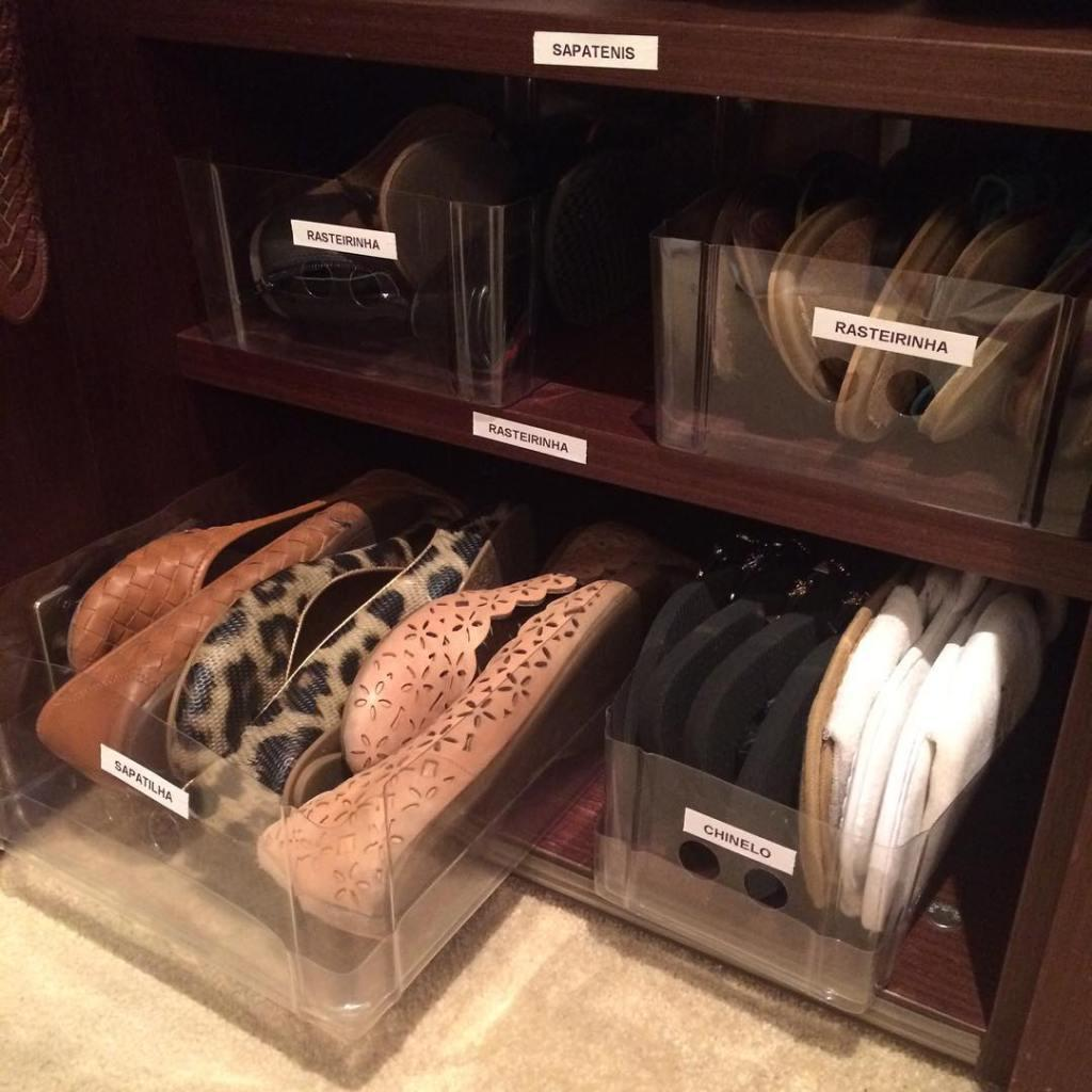 60 ideas and tips on how to organize shoes 27
