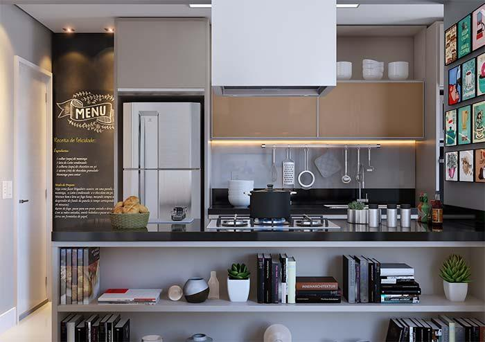 Modern kitchen with a dash of fun and joviality
