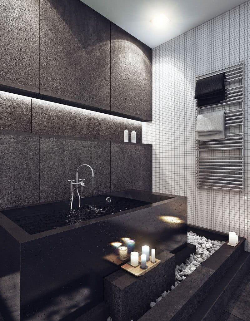 Black and white decoration: 60 ideas of environments to be inspired 23