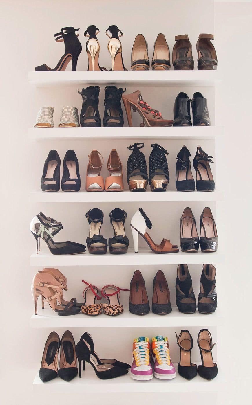 60 ideas and tips on how to organize shoes 5