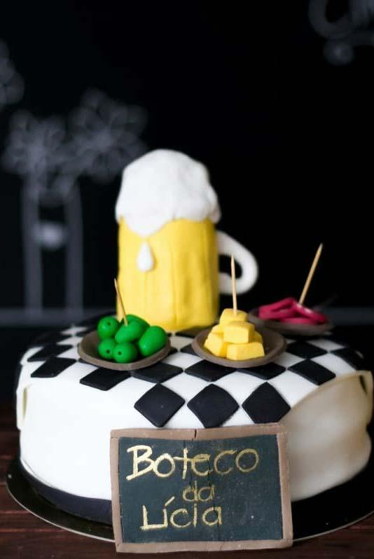 Biscuit for party decoration boteco