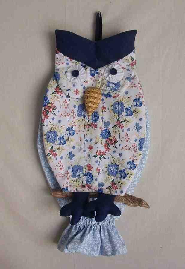 Owl bag pull: 60 ideas with photos and video step by step 25