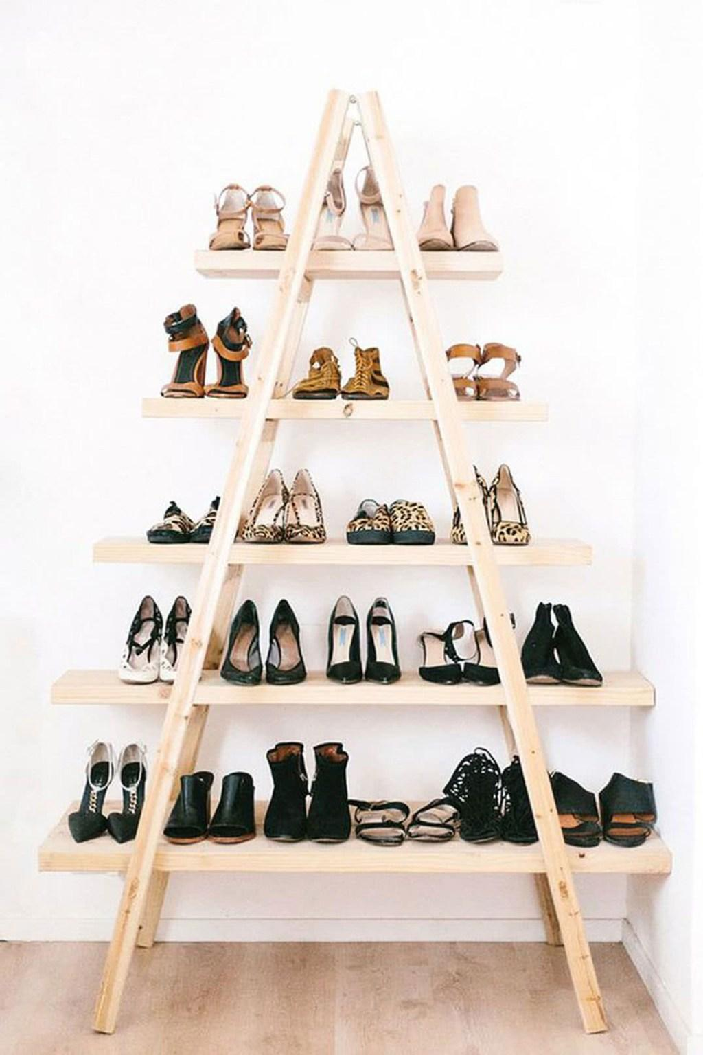60 ideas and tips on how to organize shoes 3