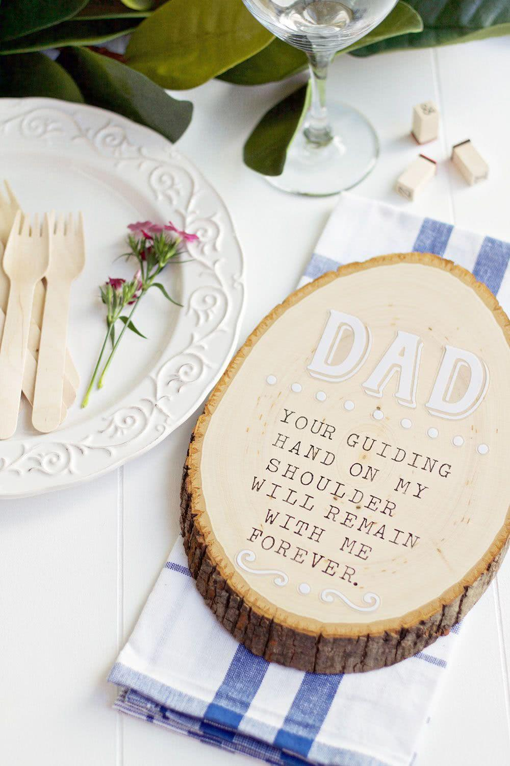 Father's Day Decor: 60 creative ideas with step by step 42