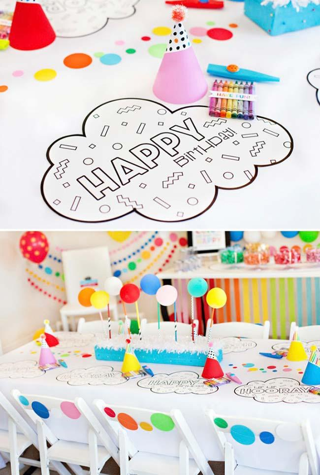 Children's party decoration: step-by-step and creative ideas 52