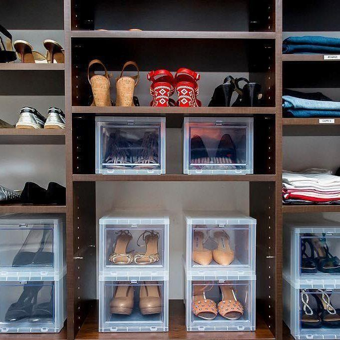 60 ideas and tips on how to organize shoes 26