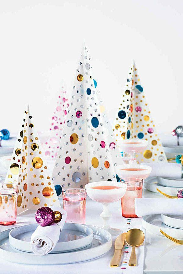Handcrafted Christmas tree: 65 inspirations and ideas for your production 1