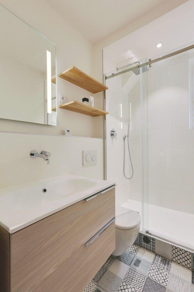 Bathroom coatings: types, models and photos 14