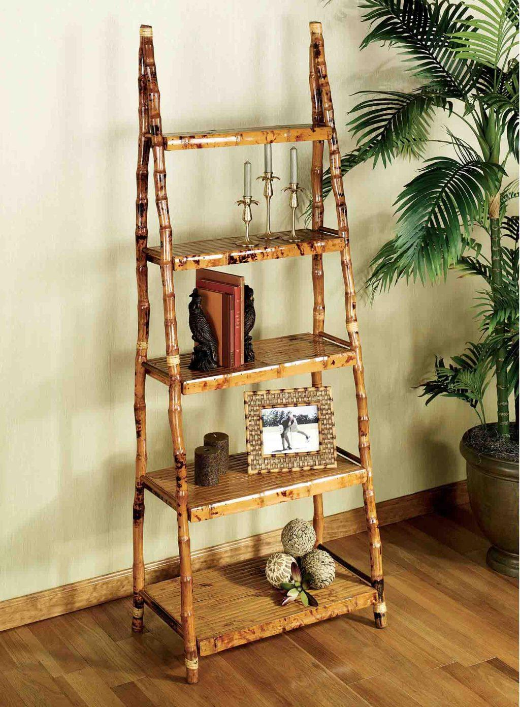 Bamboo Crafts: 60 models, photos and step by step DIY 12