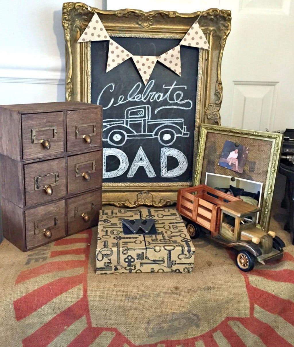 Father's Day Decor: 60 creative ideas with step by step 43