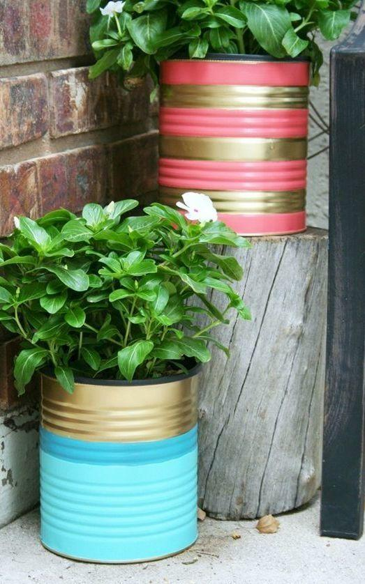 Decorated Cans: 70 Cool Ideas to Make at Home 32