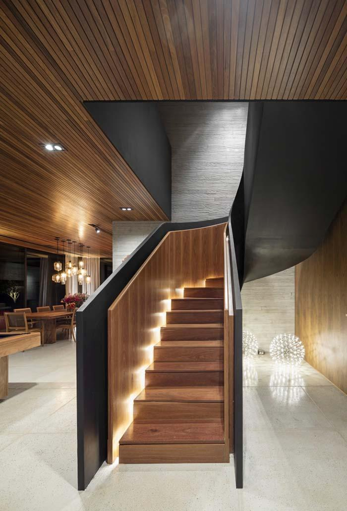Wood lining for sophisticated environments
