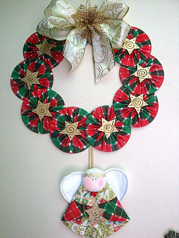 Recycled Christmas Ornament with CD