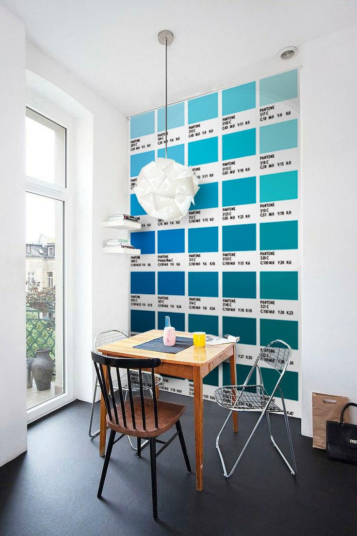 Wall scale patone: a creative idea in decoration