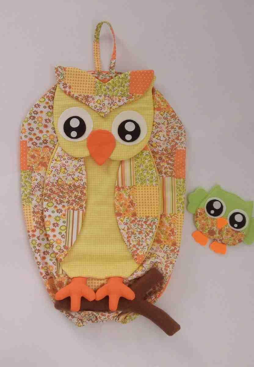 Pull Owl Bag: 60 ideas with photos and video step by step 48