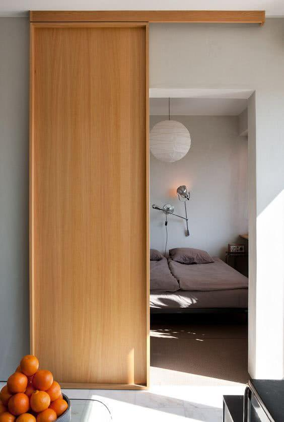 Sliding door: advantages of using and projects with photos 31