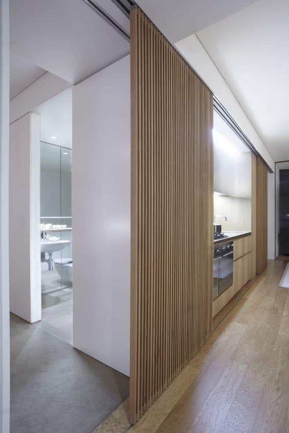 Sliding door: advantages of using and projects with photos 14