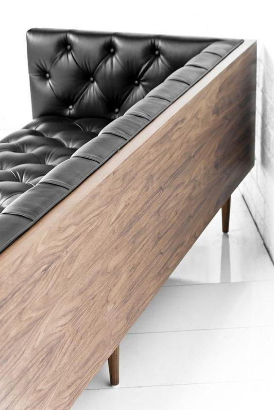 Leather sofa: 70 incredible models to decorate environments 18th