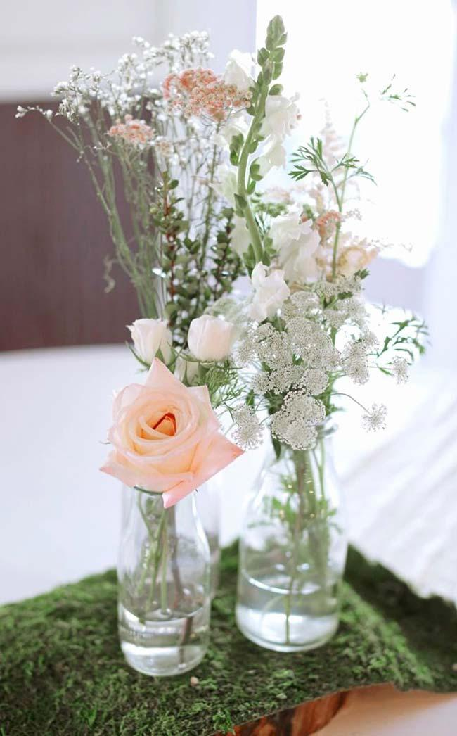 Arrangement with rose bud