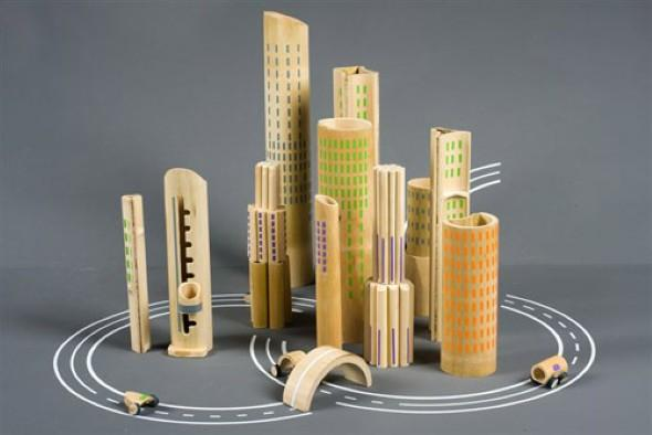 Bamboo Crafts: 60 models, photos and step by step DIY 17