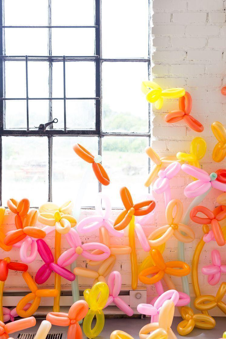 Decoration with balloons: 85 inspirations to decorate 23