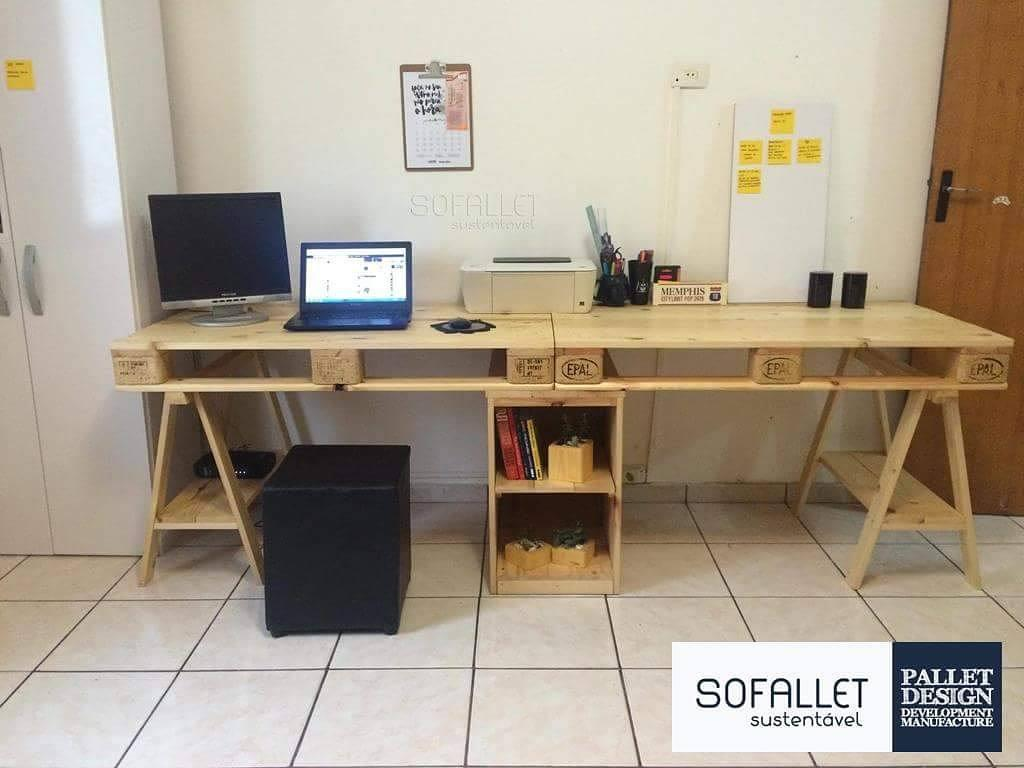 Office pallet table