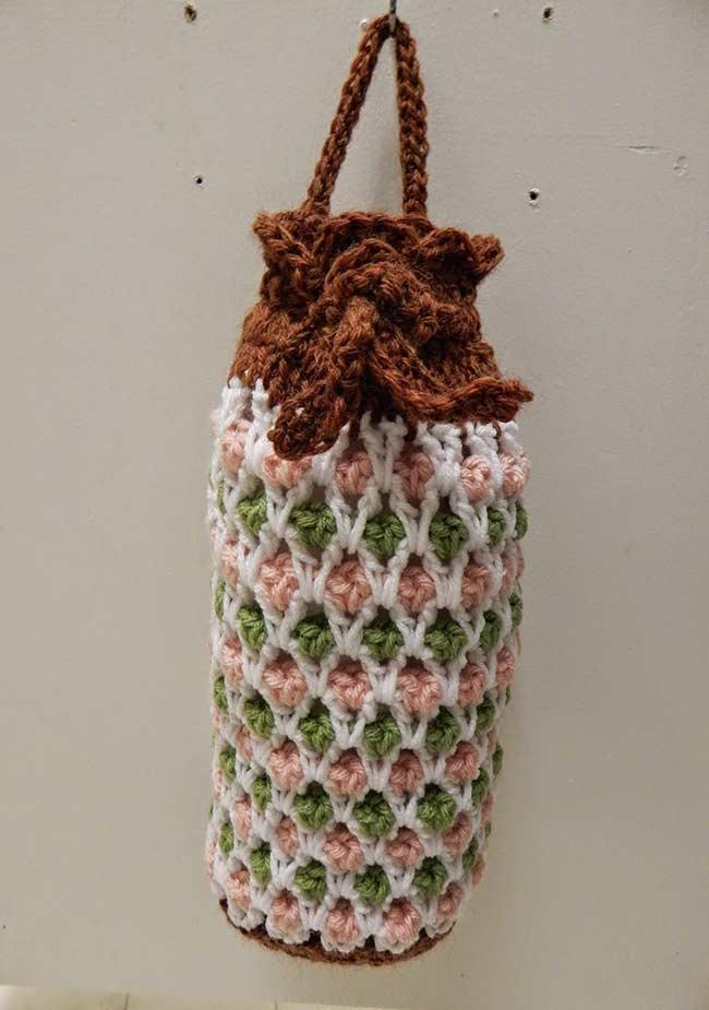 Pulling crochet bag: 60 models, ideas, and step by step 25