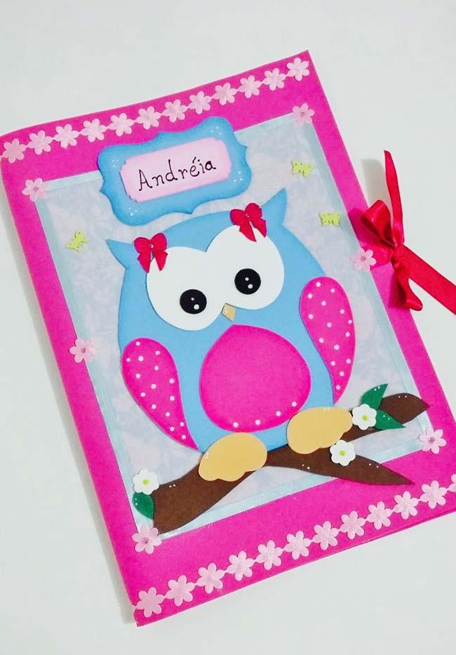 EVA Owl Colors Matching with Notebook Color