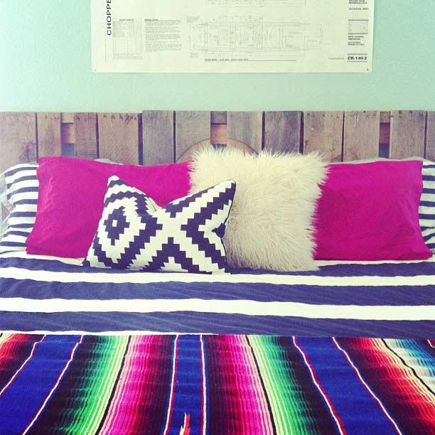 A simple option to decorate your room in a practical and cheap way