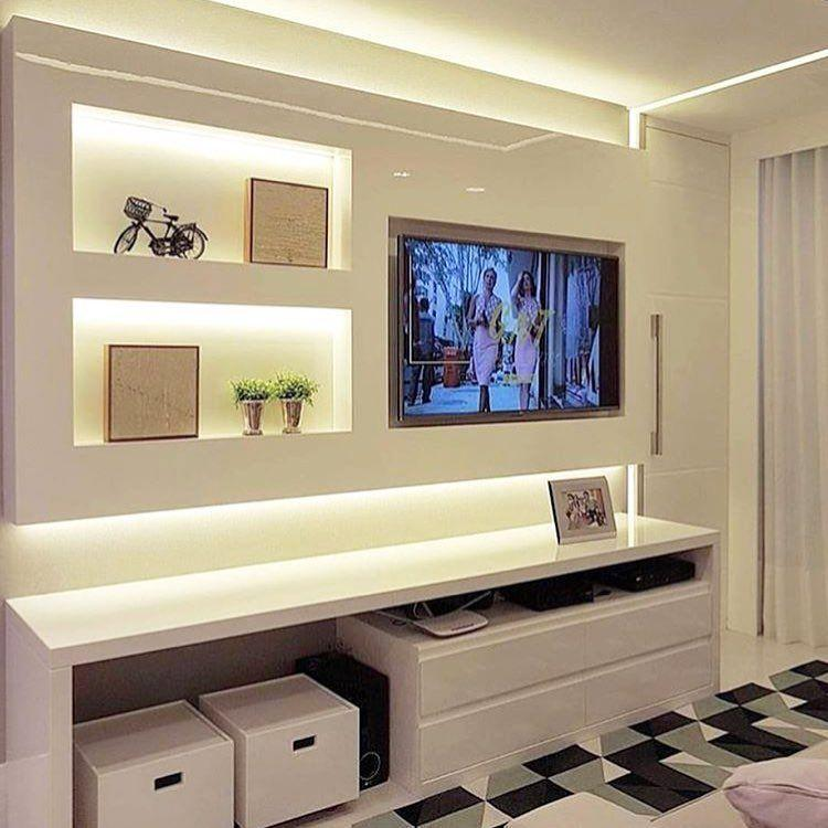 Small room decorated with planned furniture