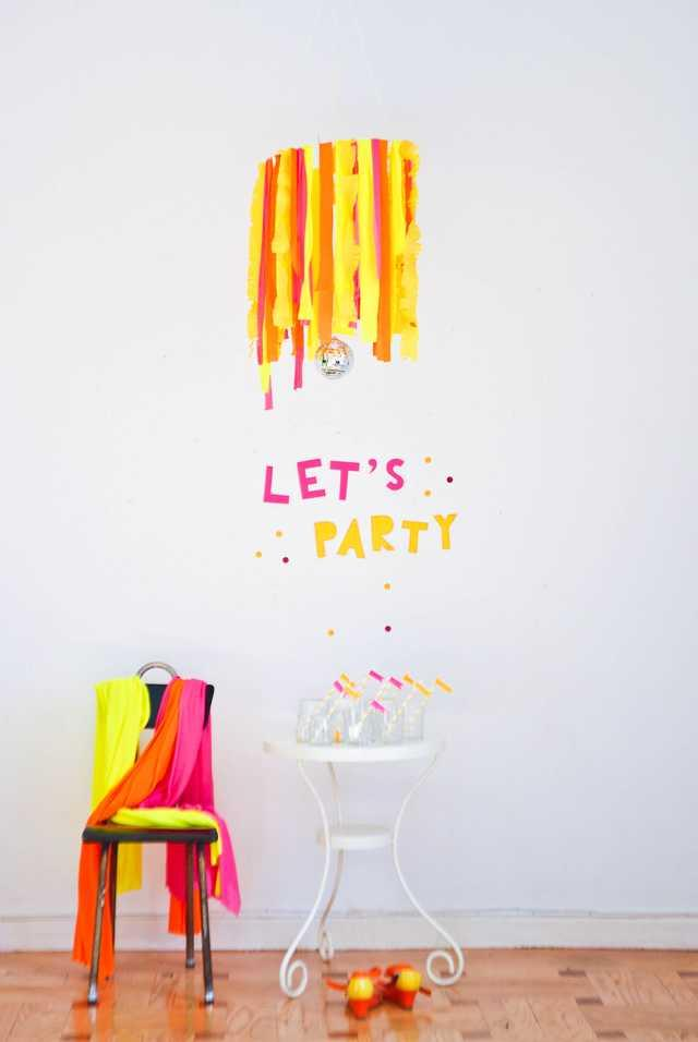 Festa Neon: 60 decorating ideas and photos of theme 32