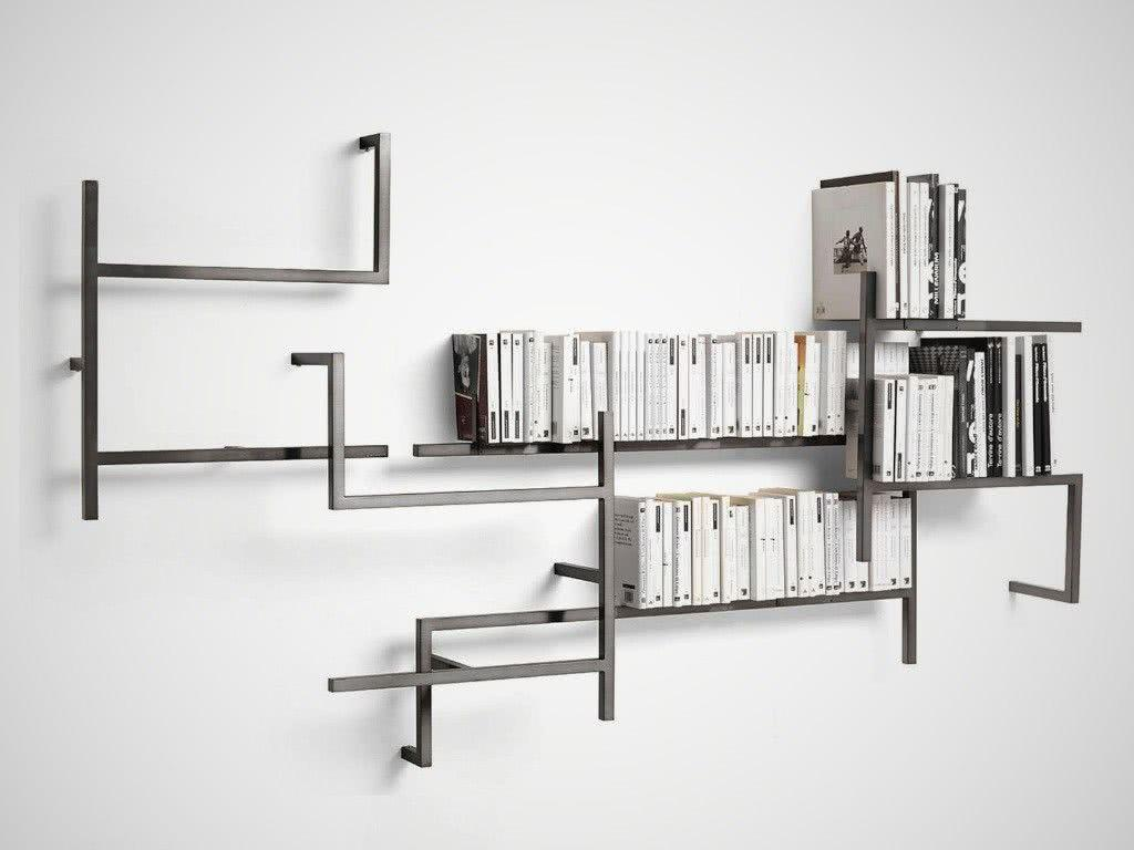 Creative Shelves: 60 Modern and Inspiring Solutions 52