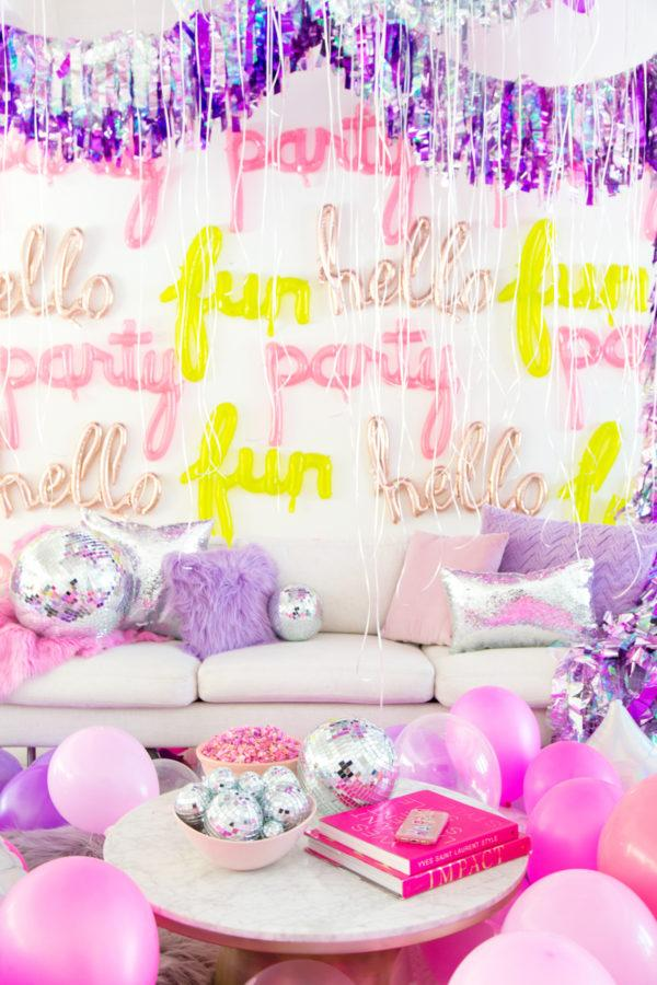 Festa Neon: 60 decorating ideas and photos of theme 9