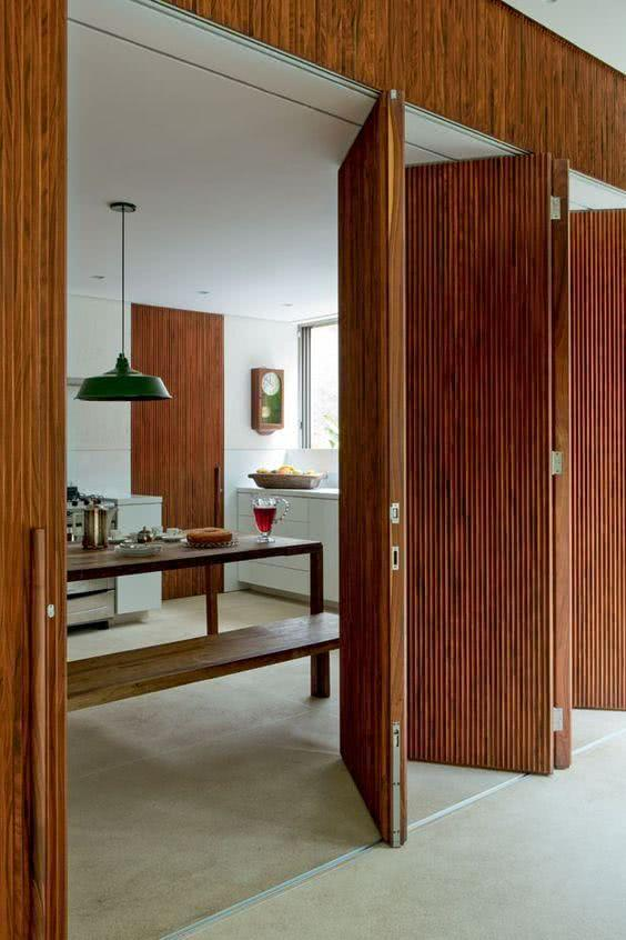 Sliding door: advantages of using and projects with photos 23