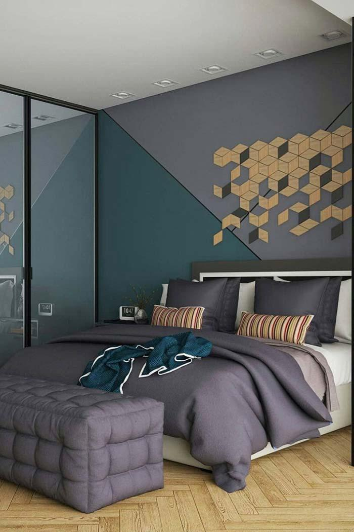 Creative idea for the bedroom