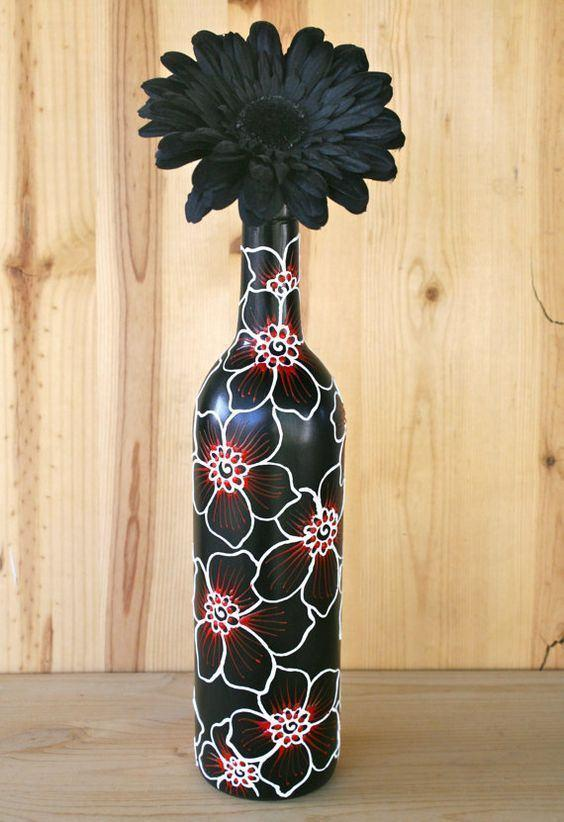 Craft with Glass Bottle: 80 Amazing Tips and Photos 22