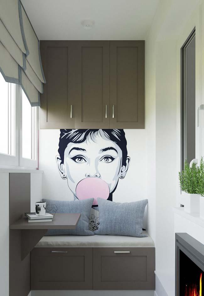 Modern and cheerful decoration