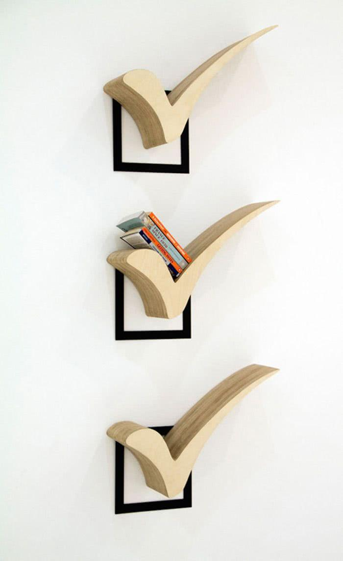 Creative Shelves: 60 Modern and Inspiring Solutions 23