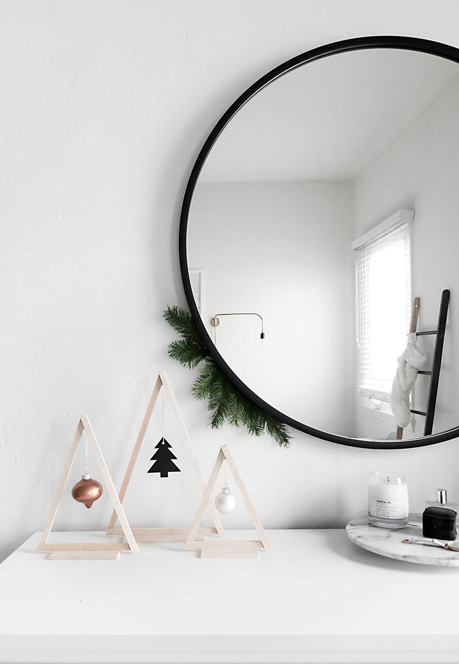 Simple and inexpensive Christmas decoration: 60 perfect ideas to inspire 55