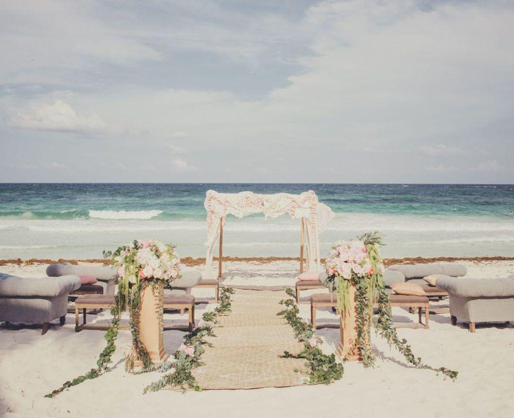 Beach Wedding Decoration: Inspirational Tips 43