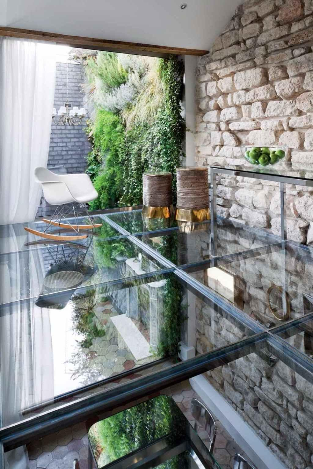 Glass roof: advantages, 60 photos and ideas to be inspired 40