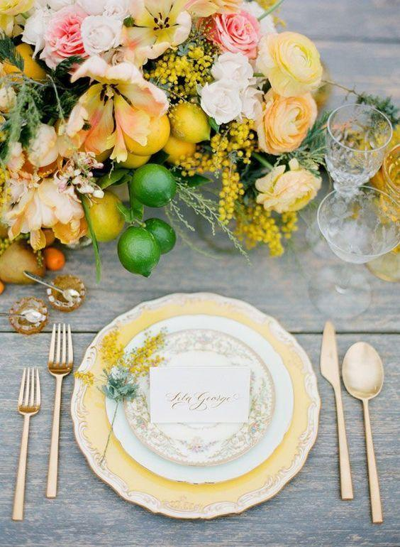 Wedding arrangements: 70 ideas for table, flowers and decoration 68