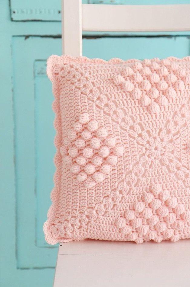 Delicate pink for an equally delicate hood.