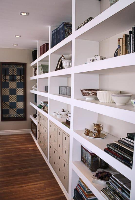 Plaster shelf: advantages and 60 projects to inspire 10